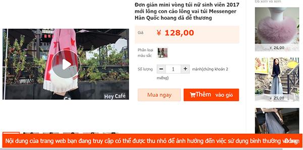 Taobao.com dịch sang tiếng Việt