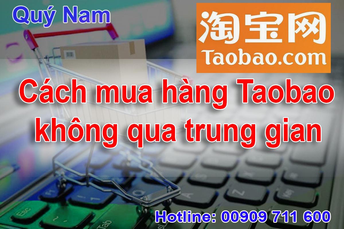 Mua hộ hàng Taobao